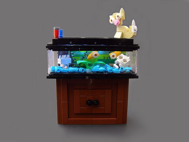 17 best images about the legos on pinterest fish tanks for Cute fish tanks