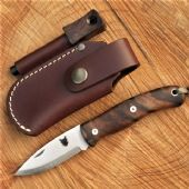 TBS Boar Folding Pocket Knife - Turkish Walnut - Perfect Every Day Carry Knife - Mark II