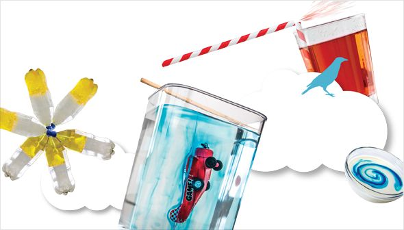 Fascinating experiments: Teachers, visit this page for experiments to try in your classroom with curriculum links and cross-curriculum arts activities