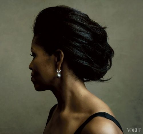 Michelle Obama photographed by Annie Leibovitz                                                                                                                                                                                 More