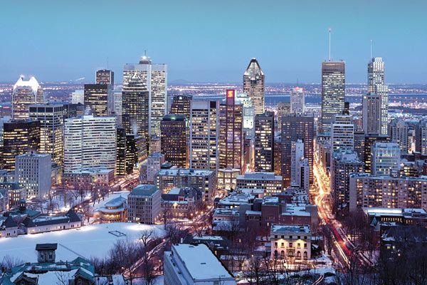 Noel tout blanc a Montreal