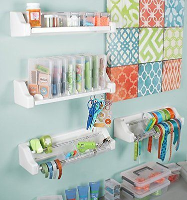 Great ideas and products for craft room organization
