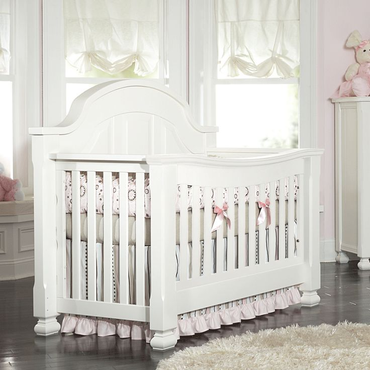 Sugar Crib By Babyu0027s Dream, Converts To A Full Or Queen Bed. Coordinates  With. Nursery GlidersPrincess NurseryWhite CribsNursery FurnitureNurseries  ...
