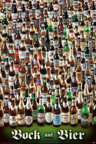 Piwa świata - różne rodzaje - plakat - 61x91,5 cm  Gdzie kupić? www.eplakaty.pl