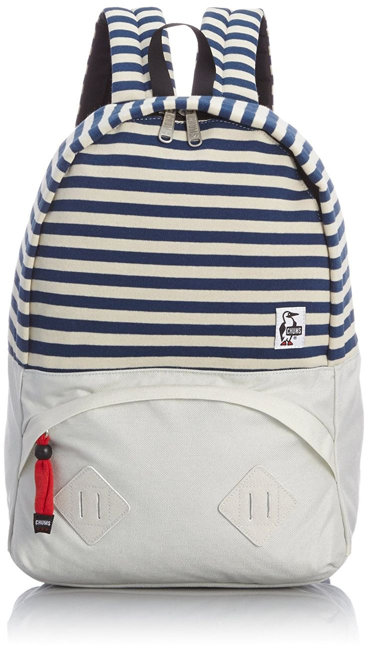 Amazon | [チャムス] CHUMS Mariposa Day Pack SWT NYLN CH60-0912 Navy-Natural/Snow (Navy-Natural/Snow) | タウンリュック・ビジネスリュック