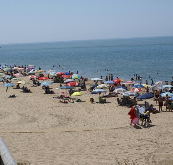 Playa de El Portil. Punta Umbria (Huelva).