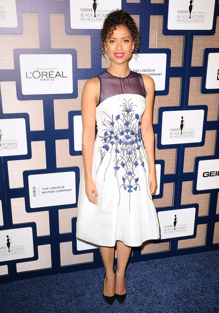 Gugu Mbatha-Raw in Carolina Herrera for the 8th Annual ESSENCE Black Women in Hollywood luncheon on Thursday February 19th in Beverly Hills CA.