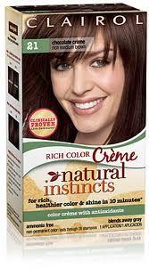 natural instincts 21 Medium Brown - Chocolate Creme -