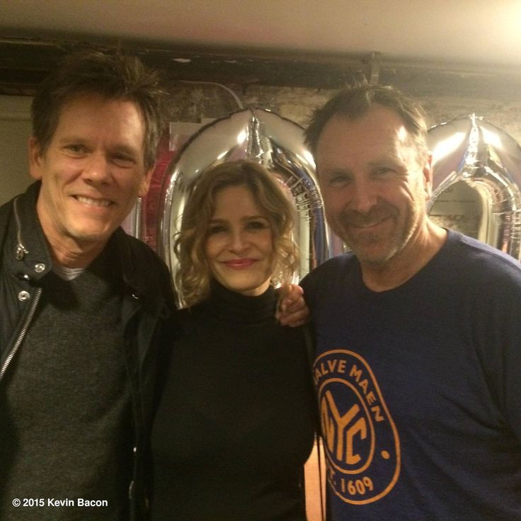 Kevin Bacon, his wife