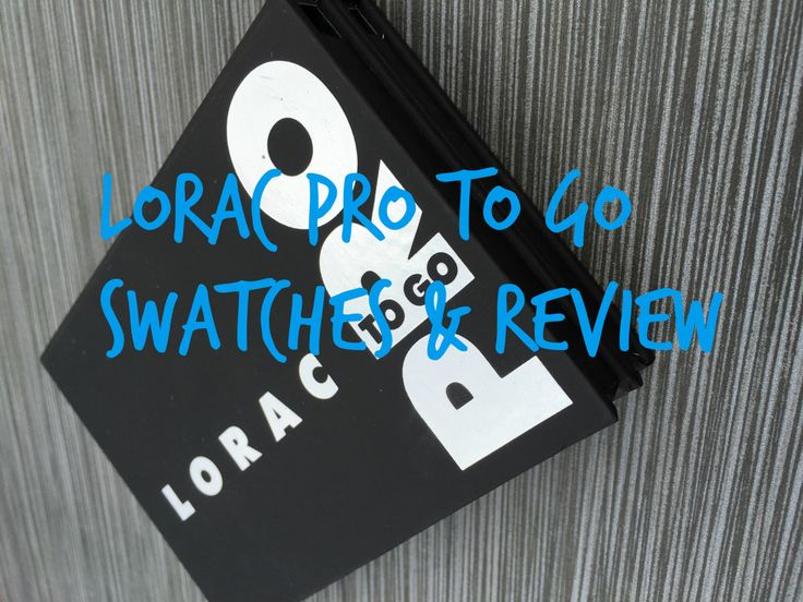 LORAC Pro To Go Swatches & Review - This palette is amazing. It is absolutely coming with me anytime I travel.