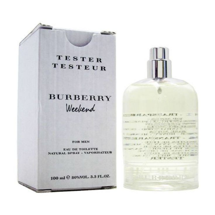 Burberry Weekend for Men by Burberry EDT Spray 3.3 oz (Tester)