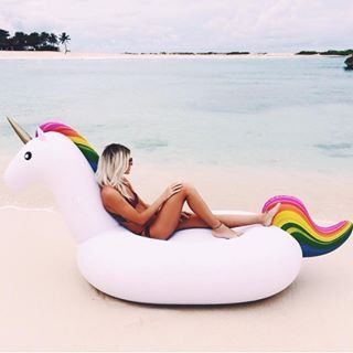 Always be yourself. Unless you can be a unicorn, then always be a unicorn. I want this!