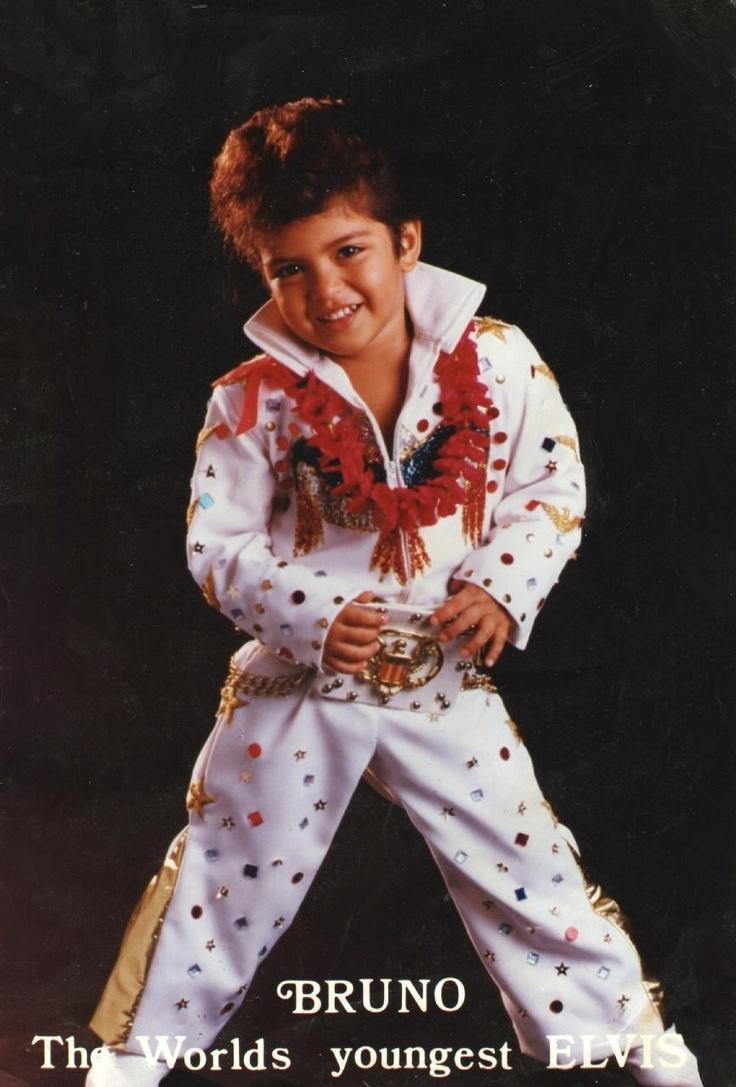 Bruno- worlds youngest Elvis impersonator