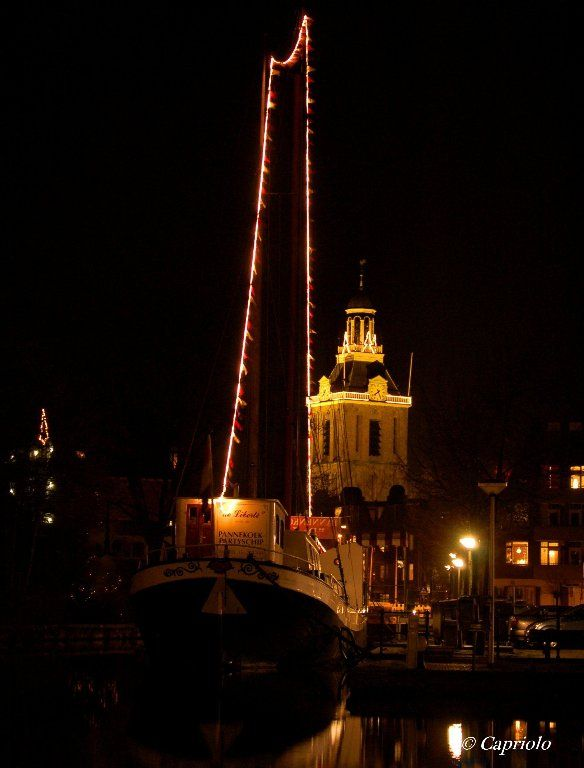 Meppel by night