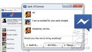 Náhled programu Facebook Messenger