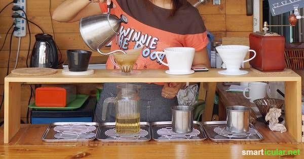 """""""Richtig guter Kaffee braucht Zeit! Mit dem Gießverfahren gelingt dir ein Kaffeegenuss wie kein anderer!"""" - Sehr empfehleswert!   #smarticular"""