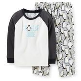 "Your ""coolest dude"" will actually stay really warm and toasty in these fleece and thermal pjs. Made for sleeping or lounging, with maximum comfort in mind. $9.80"