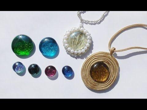 DIY Украшаем стеклянные камушки. Мастер-класс \ Decorate glass pebbles \ Jewelry handmade - YouTube