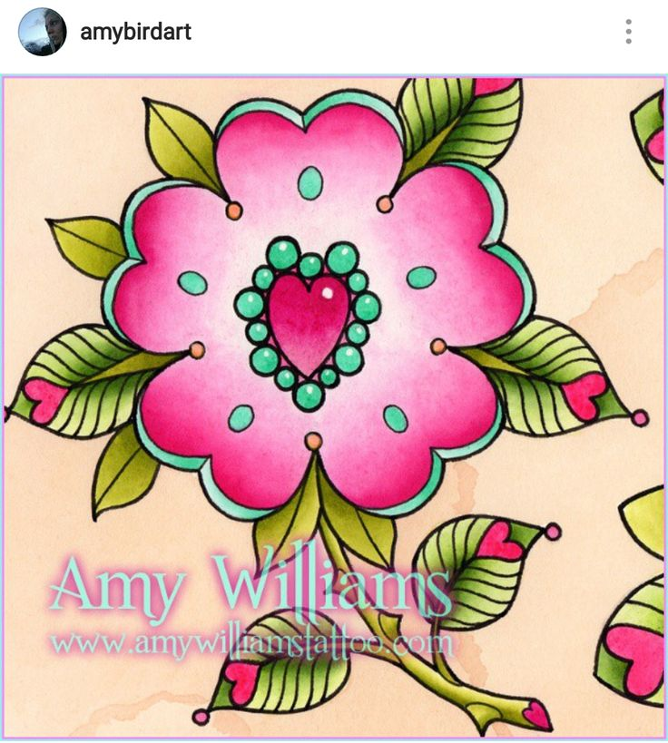 I want to tattoo this. Message me on my Facebook page Amy Williams Tattoo to book in. Rose, flower, pink, teal, heart, gem, jewel, leaf hearts, rosa canina, dog rose, tudor rose, neotraditional, traditional