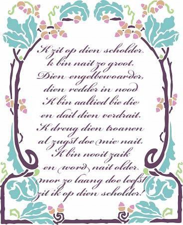 Gronings gedichtje