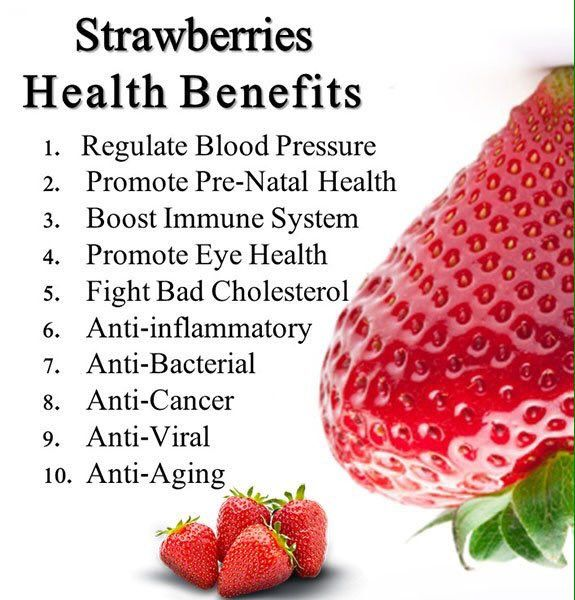 Best strawberry health benefits ideas on pinterest