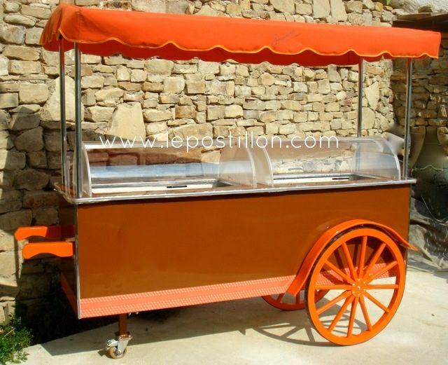 Ice cream cart, Eisfahrrad, charrette à glace, carretto gelati, carro del helado