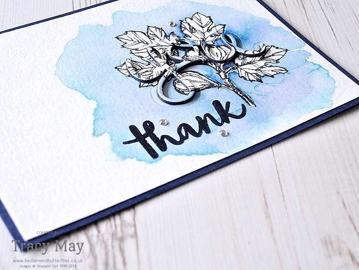 Fabulous Flora from Stampin' Up! Tracy May #GDP036