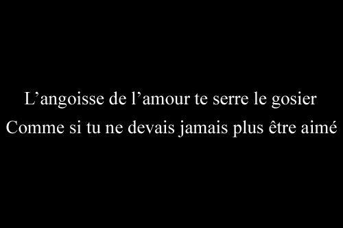 """Guillaume Apollinaire - Zone (1919) : """"L'Angoisse de l'amour te serre le gosier Comme si tu ne devais jamais plus être aimé"""""""