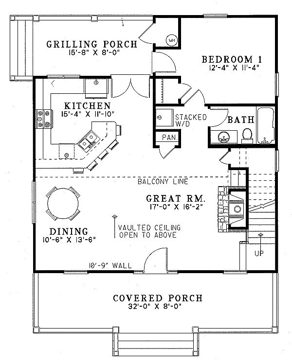 293 best lake house plans images – Traditional House Plans With Open Floor Plan