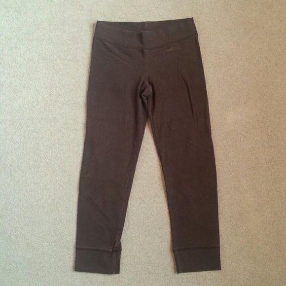 Brown spandex Hollister leggings size small. Used Brown spandex Hollister leggings size small. Used Hollister Pants Leggings