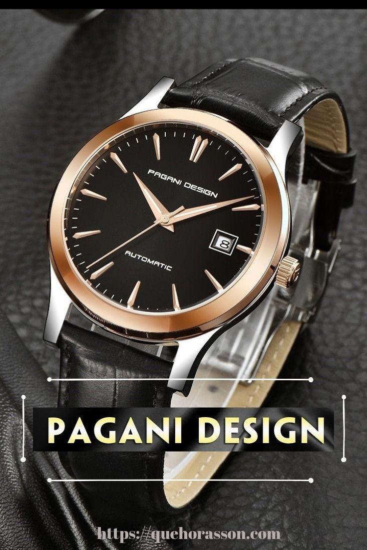 Diseno Pagani Marca China Nuevos Relojes Mecanicos Clasicos Para Hombre Reloj Impermeable De Negocios Marca De Lujo Pulsera De Cuero Genuino Reloj Automatico Reloj Automatico Marca De Lujo Reloj Mecanico