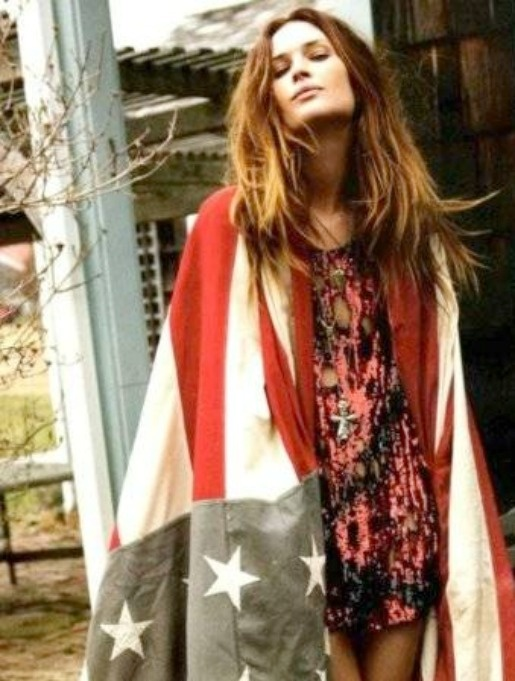 4th of July: 4Thofjuly, American Flags, Style, Erin Wasson, Stars, 4Th Of July, Fashion Editorial, Erinwasson, American Girls