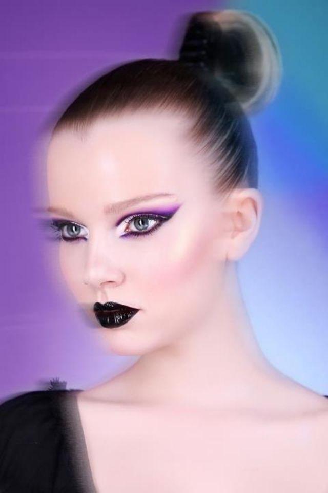 Photo: © Stanislava H. Hricova Beauty Make up Photo editorial Dark lips