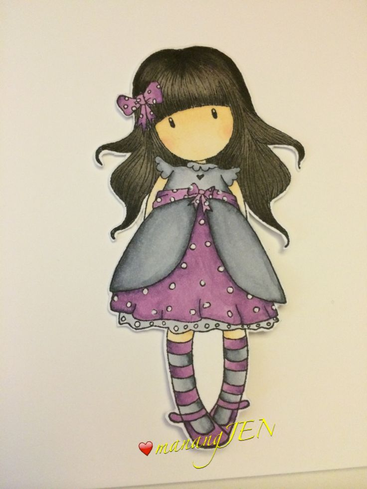 Gorjuss Stamp Copic Coloring by manangJEN