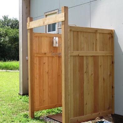 Landscape Outdoor Shower Design Pictures Remodel Decor