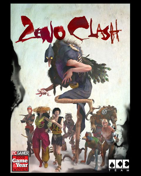 Zeno Clash box art Zeno Clash is a PC and Xbox 360 first-person fighting video game with a deep storyline set in a punk fantasy world. Get it on     Steam: http://store.steampowered.com/app/22200 XboxLive: http://marketplace.xbox.com/Product/Zeno-Clash-UE/66acd000-77fe-1000-9115-d802584109dc #ACETeam #VideoGames #Gaming #GameDev #IndieDev #IndieGame #PCGame #Xbox360 #AtlusUSA #ZenoClash #BeatEmUp #Fighting #FPS #FirstPersonShooter #Brawler #VideoGamesArt #GamesArt