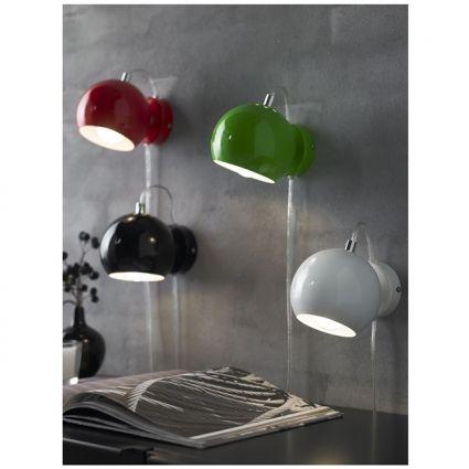 Ball falilámpa, fényes türkiz – ID Design Kiegészítők - Lámpa - Falilámpák