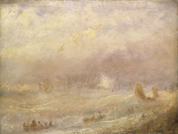A View of Deal | Joseph Mallard William Turner | Nationalmuseum, Sweden | Public Domain Marked
