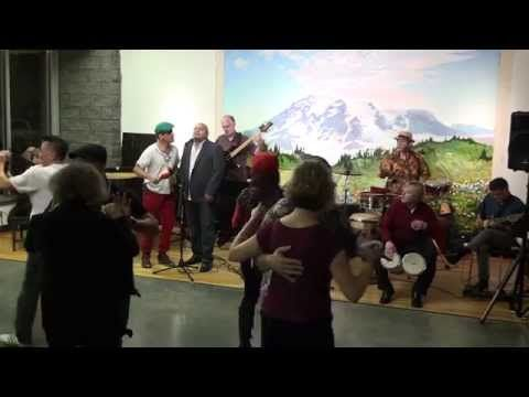 Mambo Cadillac- Live at My World Dance & Fitness in Seattle Dec 20th, 2014 - Our Saturday Salsa Socials happen the third Saturday of the month!  Only $5.00, and you don't need a partner!