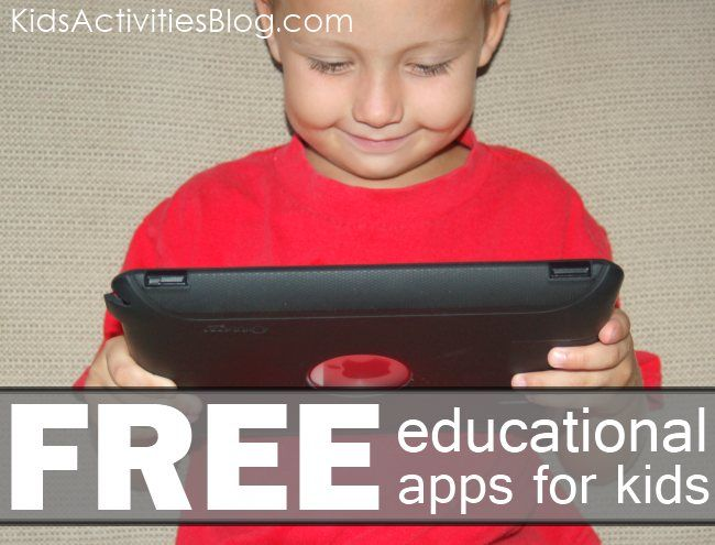 Free educational apps for kids - there are literally dozens of them!!