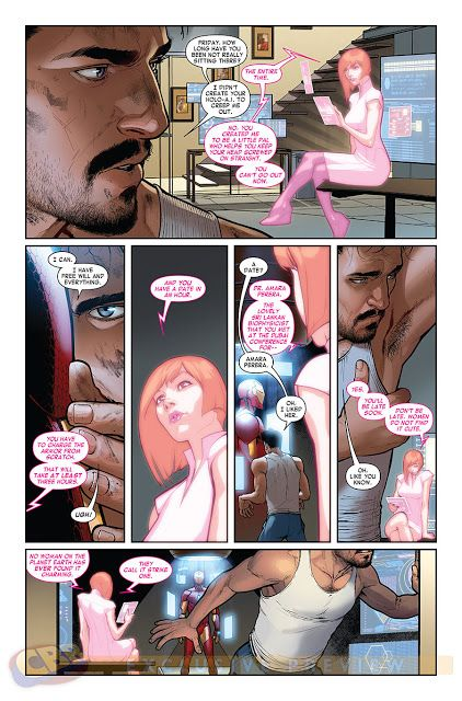 Homem de Ferro revela sua nova armadura nos quadrinhos | Planeta Nerd