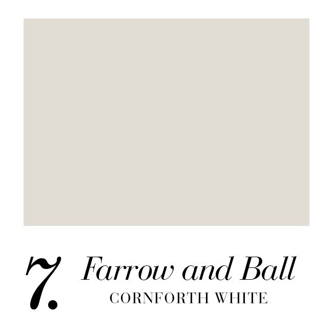 farrow and ball cornforth white
