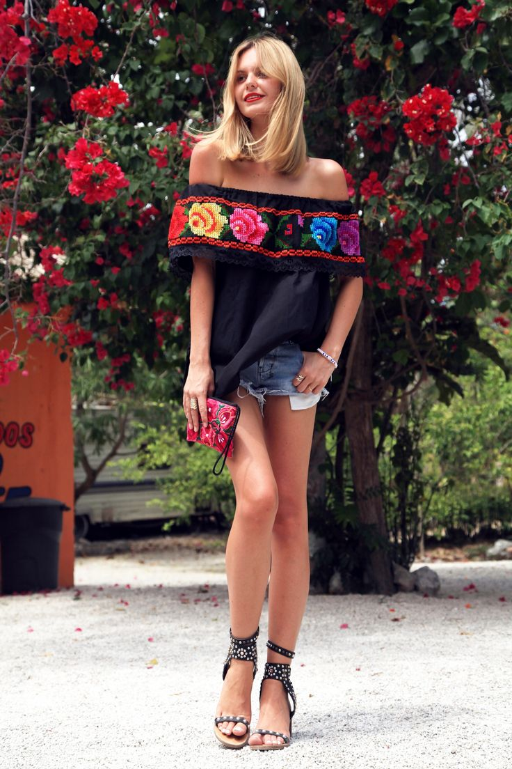www.tuulavintage.com mexico blusa yucateca