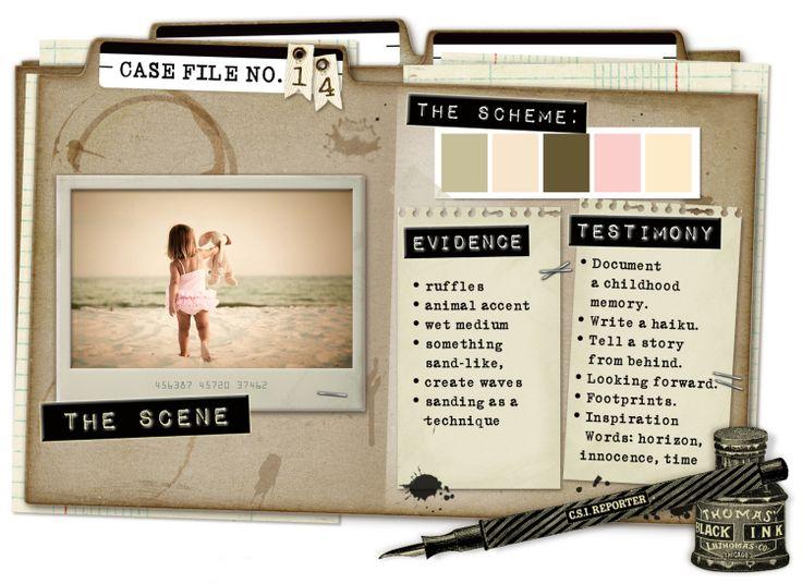 Case File No. 14 {Case Closes on April 15, 2012} - CSI: Color, Stories, Inspiration