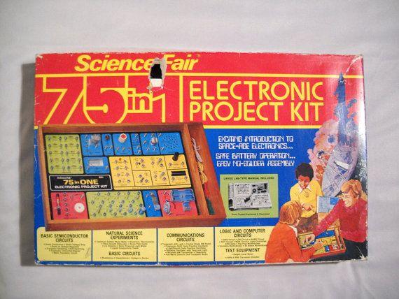 Science Fair Electronic Project Kit 75 in 1 Radio by Tntbrbefan