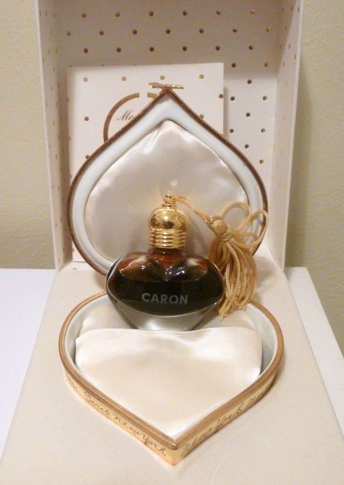Caron: flacon cristal parfum original   Coeur de Caron   édition limitée perfume