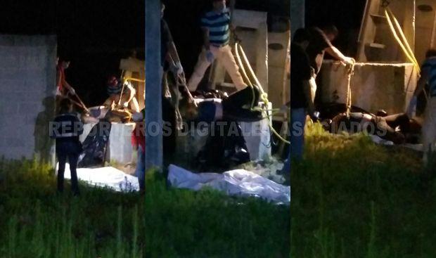 Tiran cadáver dentro de un pozo artesiano - http://www.esnoticiaveracruz.com/tiran-cadaver-dentro-de-un-pozo-artesiano/