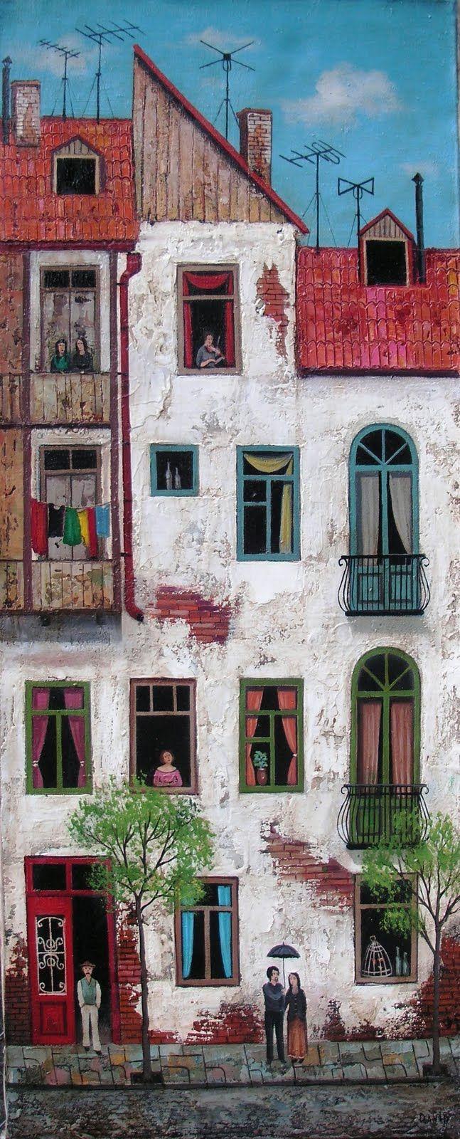 David Martiashvili - Resimkalemi Forum - Sanatçının Renkli Dünyasi