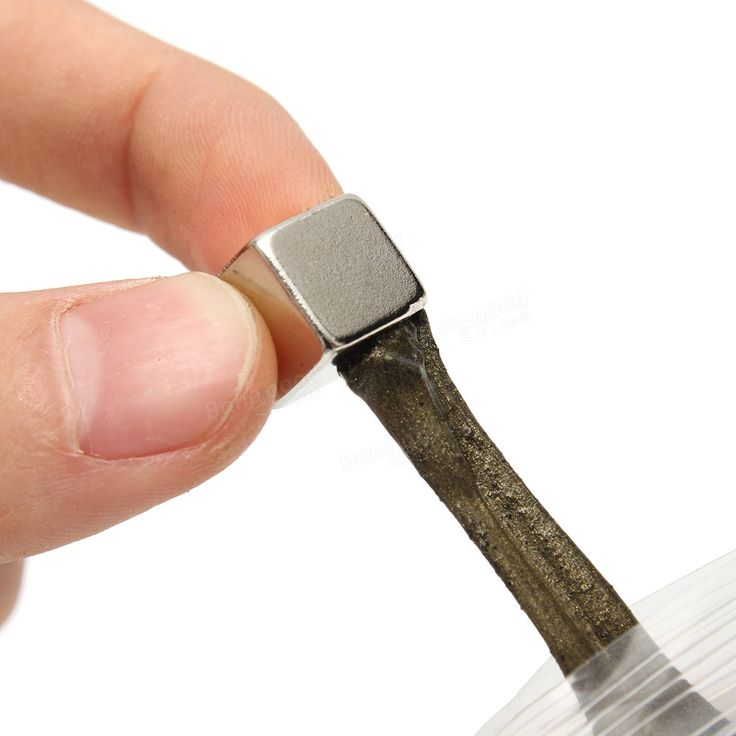 Magnetic Mud Plasticine Putty Ferrofluid Dense Ferro Fluid Magnet Toys Sale - Banggood.com