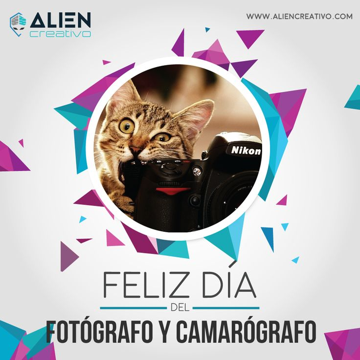 Dìa del Fotógrafo #FelizDiaDelFotografo #Fotografo #Photographer  #DayofPhotographer